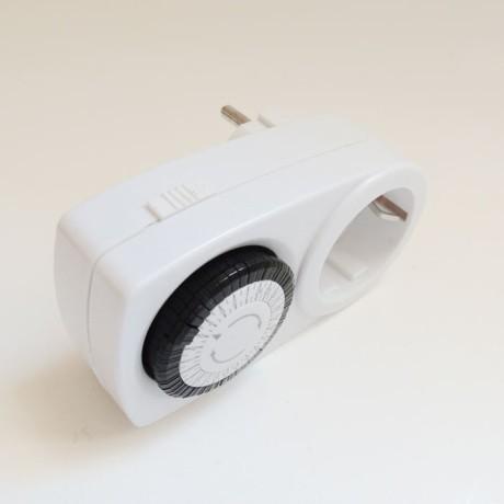 Mekanik Zaman Ayarlı Saati Timer Fişli Prizli Analog Zamanlayıcı