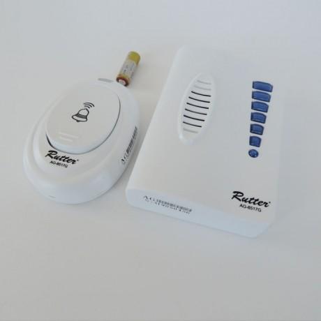 Rutter Dijital Kablosuz 20 Melodili Kapı Zili Pilli Dış Mekan