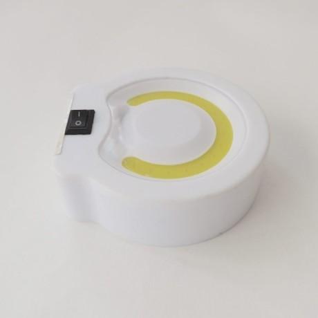 Tavan, Dolap İçi Led Lambası Spot Aydınlatma Düğmeli Beyaz Işık