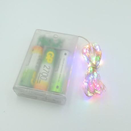 Peri Led Süs 5 Metre Dekoratif Tel Işık +2 Kalem Pil Hediye