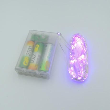 Peri Led Süs 10 Metre Dekoratif Tel Işık +3 Kalem Pil Hediye