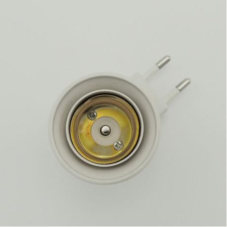 Ampul Yuvası Duylu Fiş Deneme Duyu E27 220 V Düğmeli