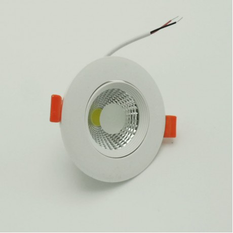 Beyaz Sıva Altı Led Panel Spot Armatür 5W Beyaz Gün Işığı