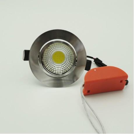 Alüminyum Sıva Altı Led Panel Spot Armatür 5W Beyaz Gün Işığı