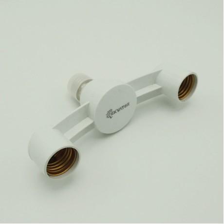 Ampul Duy Çoğaltıcı Çoklu Lamba Avize Çoklayıcı 2li E27