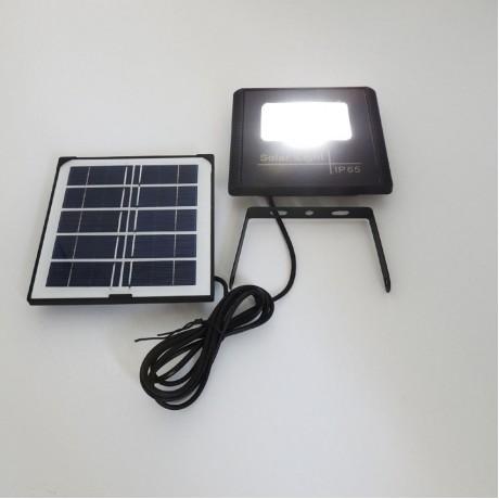 Güneş Enerjili SMD Led Projektör Lamba Beyaz Işık