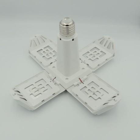 4 Kollu Pervane 40W Led Ampul Tasarruflu Beyaz Işık E27 Duy 6500K