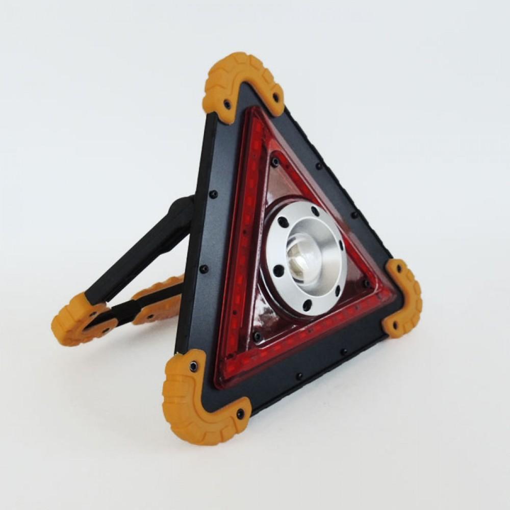 Oto Üçgen Reflektör, Şarjlı Led Kamp Işığı İkaz Feneri, Işıldak