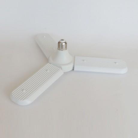 3 Kollu Ayarlanabilir Yüksek Lümenli Led Ampul Beyaz Işık E27  Duy