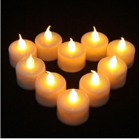 LED MUM TEALIGHT  SARI IŞIK-24 ADET